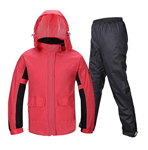 RUIX Raincoat Regen Hosen Anzug Split Erwachsene Weibliche Dünne Mode Regenjacke,M