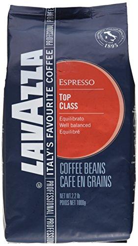 Lavazza Kaffee Espresso Top Class, ganze Bohnen, Bohnenkaffee, 1000g