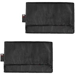 Homyl 2 Pack Anti Scratch Funda Cubierta para Nintendo Switch Charging Dock Negro + Gris