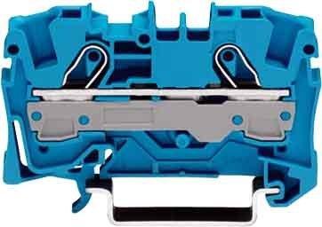 Preisvergleich Produktbild WAGO 2006-1204 2-L-FV-DURCHGANGSKLEMME BLAU
