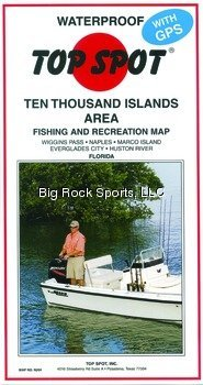 Thousand Islands Florida Area Fishing and Recreation Map ()