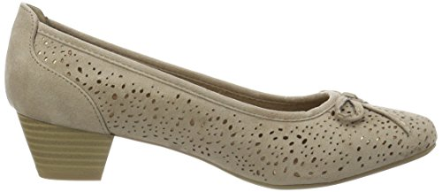Jane Klain Damen 223 766 Pumps Beige (Stone)