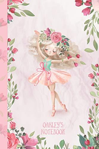 Oakley's Notebook: Dance & Ballet Jorunal for Girls, 108 lined pages 6x9