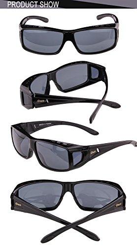 57e05c50a71 Duco Unisex Wear Over Prescription Glasses Rx Glasses Polarized Sunglasses  8955