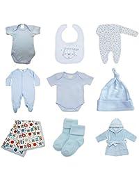 Paquete de ropa para bebés de primer año – 9 piezas bolsa variada, ...