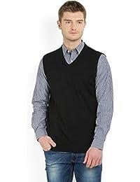 ZAKOD Men's Wear Solid Half Sleeves Sweaters for Regular Use