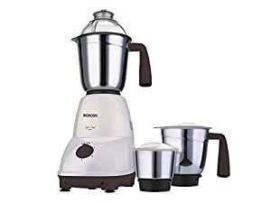 Borosil Super Smart 550-Watt Mixer Grinder (White)