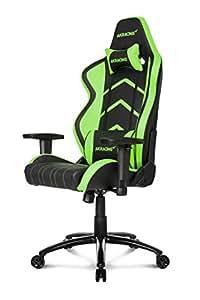 AKRACING Player Gaming Stuhl für Computer schwarz/grün