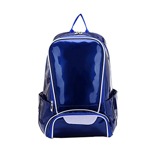 LAIDAYEpu Schultertaschen Rucksäcke Sporttaschen Outdoor Rucksäcke Reisetaschen Schultaschen Schultaschen Blue
