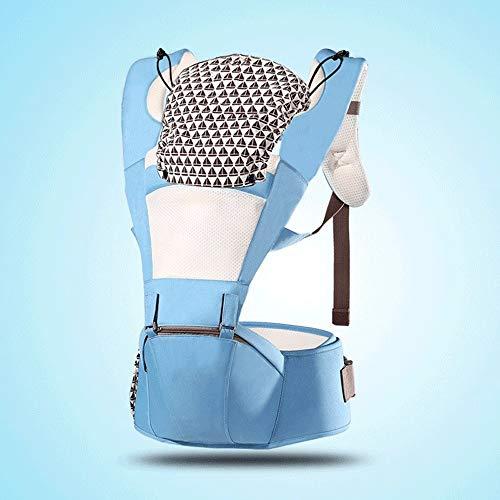 LQRYJDZ 2-in-1 Porte-bébé, Sangle Amovible et Combinaison de selles de la Taille, avec Un Chapeau, Porte-bébés Avant et arrière, Ergonomique Sac à Dos for bébés ( Color : B )