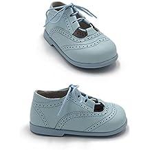 0d982df7a9ecb ELFOS - Zapato niño tipo gales. Todo piel. Suela Goma. Primeros pasos.