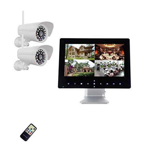 9-pulgadas-Half-Touch-Monitor-720P-HD-Radio-Sistema-de-Video-Vigilancia-Tiempo-real-2-x-Cmara-de-visin-nocturna-ampliable-a-4-Cmaras