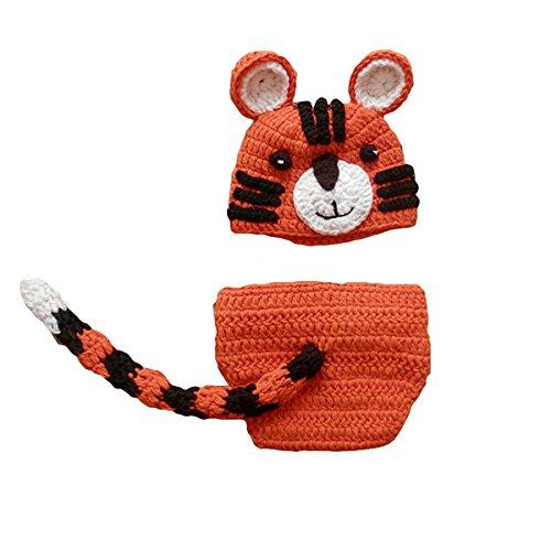 Imagen de m&a ropa disfraz fotografía para bebé 0 3 meses tigre
