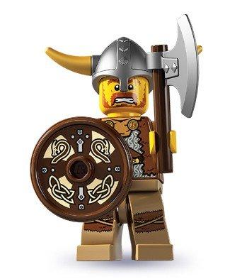 LEGO 8804 Minifigures - Figura coleccionable: vikingo