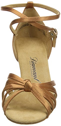 Diamant Latein 109-087-379 Damen Tanzschuhe - Standard & Latein Braun (Dark Tan)