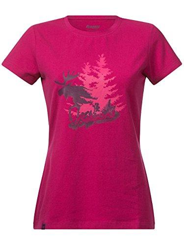 Bergans Damen T-Shirt Elk Lady Tee Cerise