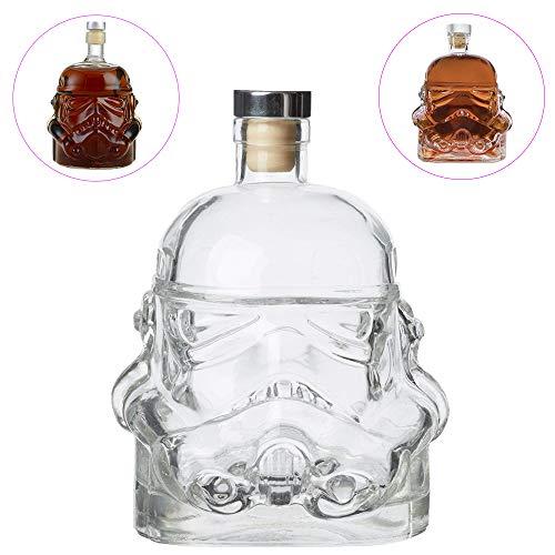650 ML Star Wars Storm Trooper Whiskey Beer, Brandy Liqueur Juice Red Wine Beverage Glass Decanter Cup Heat Resistance