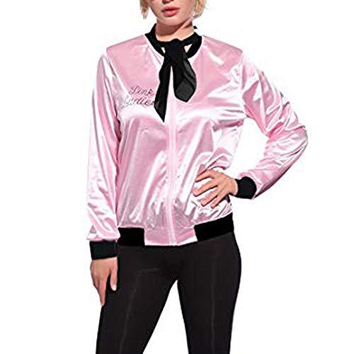 TWBB 1950s Retro Damen Mantel Drucken Cardigan Kostüm Polka Stil Schal einstellen Jacke Pullover