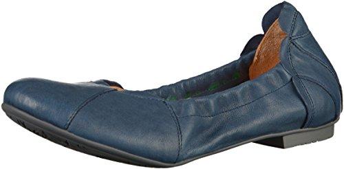 Think! Damen Balla_282161 Geschlossene Ballerinas Blau(Capri)