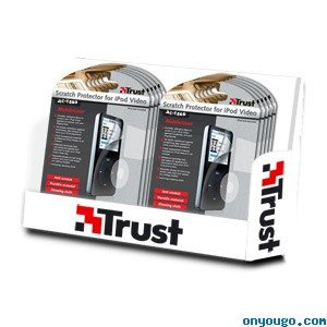 Trust Scratch Protector Pack für Easy Connect iPod Video AC-1500