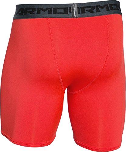 Under Armour Heatgear Compression Herren Fitness - Hosen & Shorts Rocket Red