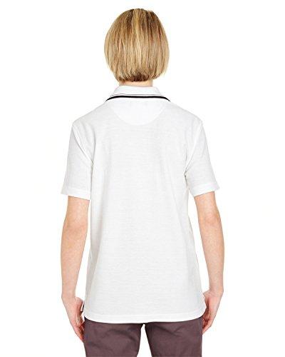 UltraClub - Polo - Femme White/ Black