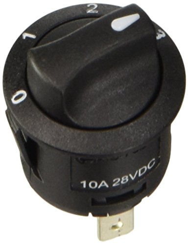 Lampa 45566 Drehregler mit 4Positionen, 12V / 24V - 20A