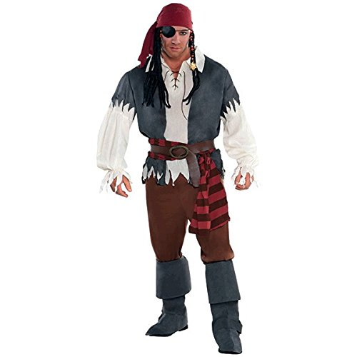 Piraten Kapitän Kostüm (Matrose Mit Stiefel Kostüm)