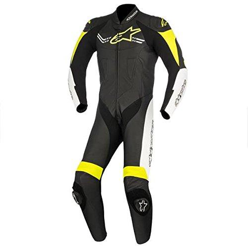 *Alpinestars Challenger V2 – Herren Einteiler Lederkombi Motorrad Sport Racing, 58*