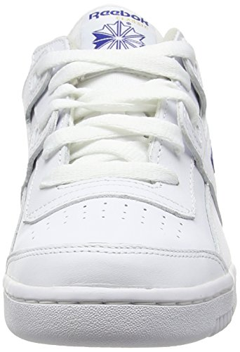 Reebok Herren Workout Plus Sneakers Weiß (White/Royal)