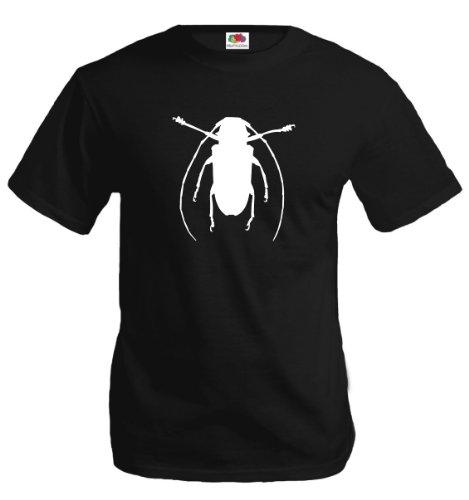 t-shirt-kakerlake-xl-black-white