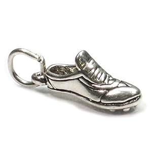 Chaussures de course à pied en argent 925/1000-charms SSLP1862 chemin