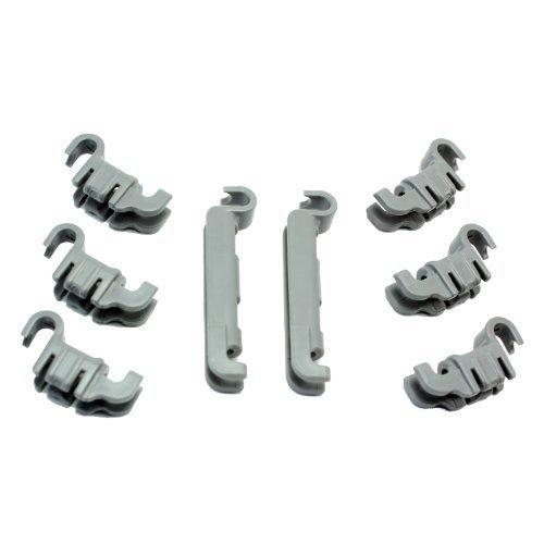 siemens-sn26m290gb-02-dishwasher-lower-rack-flip-tynes-plastic-bearing-clips-kit