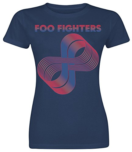 Foo fighters loops maglia donna blu navy m