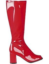 Suchergebnis auf Amazon.de für  rote stiefel - Schuhe  Schuhe ... 18d033d45b