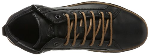 camel active Cricket 13, Baskets Montantes Homme Noir (Black)