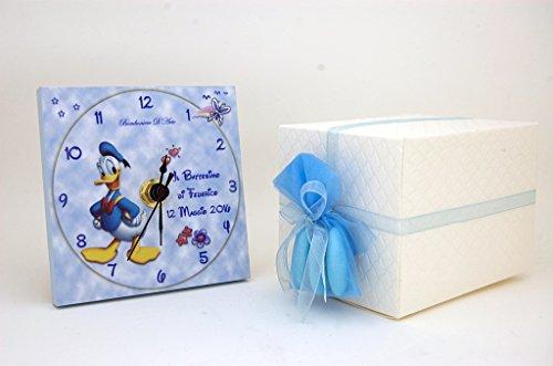 Bomboniera battesimo o compleanno bimbo personalizzata paperino