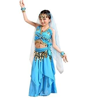 Bauchtänzerin Kinderkostüm Bollywood Kostüm Mädchen