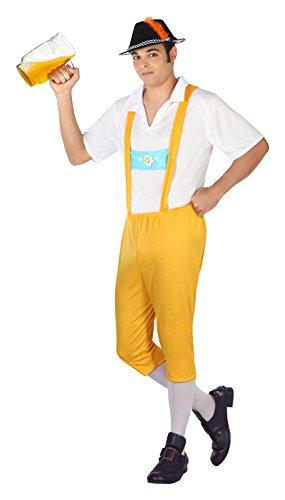 ATOSA 4994 Karnevalskostüm, Mehrfarbig, M (Kostüm Allemande)