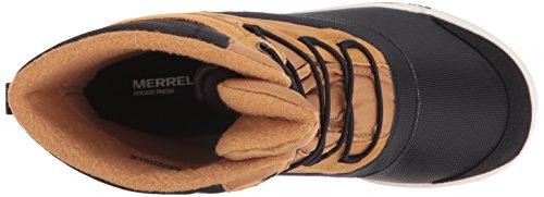 Merrell Snow Bank 2.0 Waterproof, Chaussures de Randonnée Hautes Garçon Braun