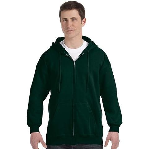Hanes para hombre 9,7oz. 90/10sudadera con capucha (algodón Ultimate (F280)
