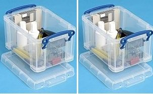 Really Useful Box, contenitore da 1,6 litri Clear