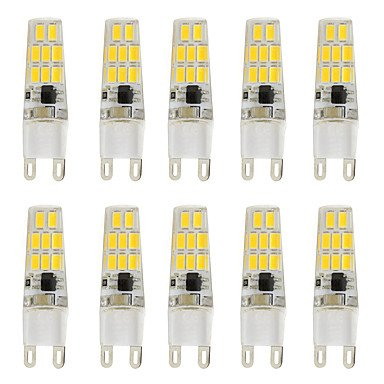 WELSUN 3W G9 LED à Double Broches T 16 SMD 5730 260 lm Blanc Chaud Blanc Froid K V ( Light Source Color : Cold White , Voltage : 200-240V )