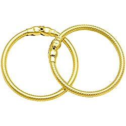 Memoir Gold plated plain and sober Nazariya, wrist lucky charm jewellery for new born babies (0-1 yrs)