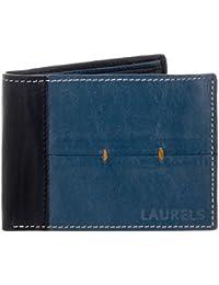 Laurels Genuine Leather Blue Color Semi Formal Men's Wallet