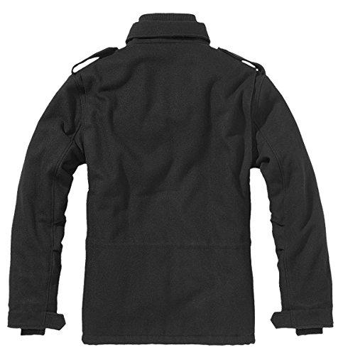 Brandit M65 Voyager Wool, Blouson Homme Noir - Schwarz (schwarz 2)