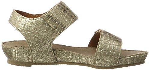 cashott A17112, Ciabatte Donna Gold (Cocco Gold 190)