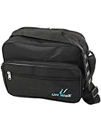 NISUN Multipurpose Tiffin Lunch Bags for Office Travel for Men & Women (30x18x28 cm) Black