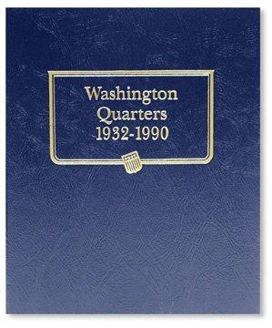 Washington Quarters 1932-1990 9122 Whitman New Album by US Mint