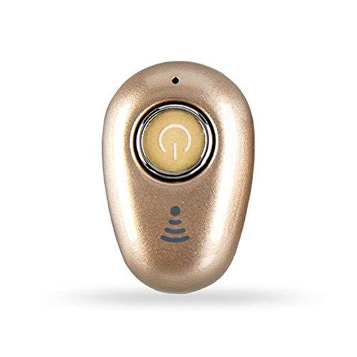 Noradtjcca Mini-Funkkopfhörer In-Ear-Stereo-Kopfhörer V4.1 Ohrhörer-Headset für Smartphones Device S650